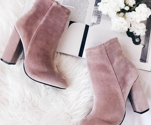 booties, footwear, and fashion image