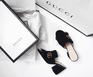 black, gorgeous, and gucci image