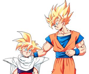 anime, dragon ball z, and goku image