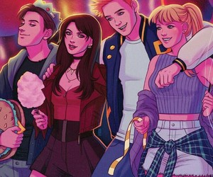 Archie, comics, and riverdale image