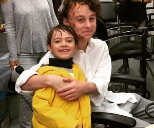 wyatt oleff, it, and georgie denbrough image