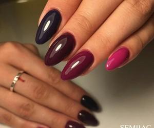 nails and semilac image