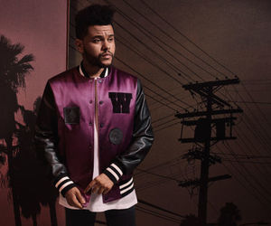 the weeknd, H&M, and selena gomez image