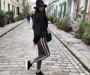 girl, outfit, and sappe image