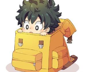 boku no hero academia, anime, and deku image