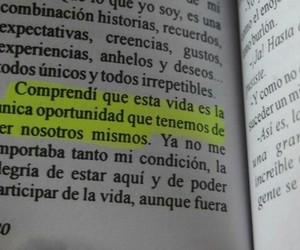 book, frases, and vida image