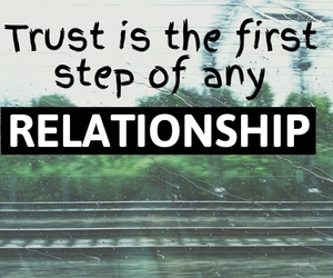 friendship, trust, and trust quotes image