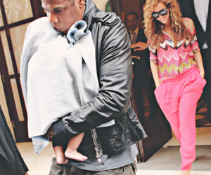 beyoncé, baby, and jay-z image