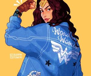 wonder woman and DC image