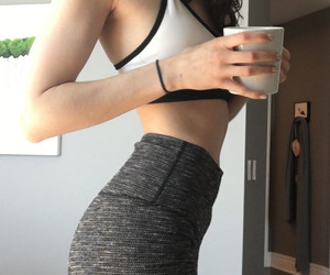 Figure, fitness, and girl image