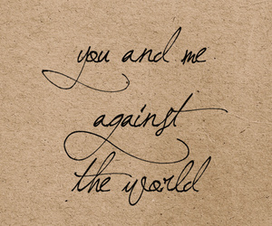 love, me, and world image