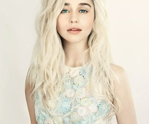 emilia clarke, game of thrones, and got image