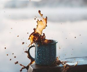 coffee, photography, and autumn image