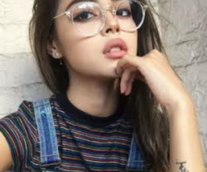 girl, glasses, and tumblr image