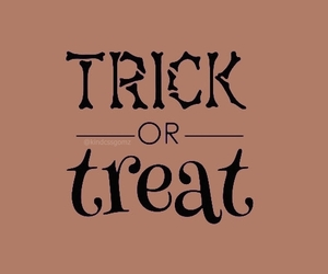 frases, Halloween, and treat image