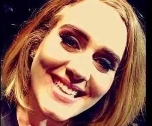 Adele, green eyes, and blonde image