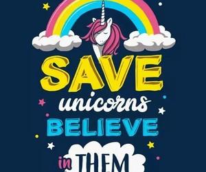 funny pictures, unicornio, and dibujo divertido image