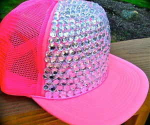 hat, pink, and fashion image