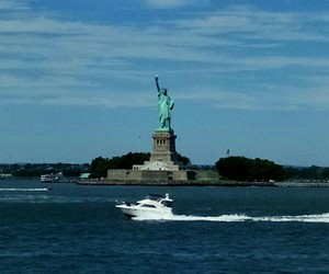 new york and liberty statue image