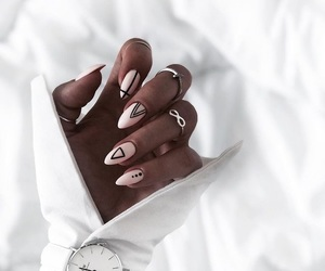 fashion, nail art, and nails image