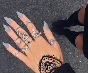 nails, girls, and parts image