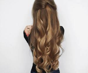 beautiful, long hair, and beauty image
