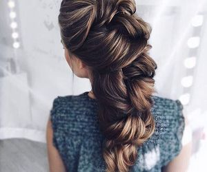 fashion, hairstyle, and hair color image