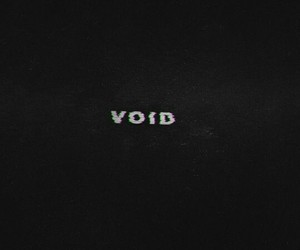 void, aesthetic, and dark image