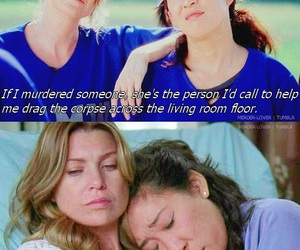 grey's anatomy, cristina yang, and best friends image