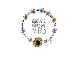 flowers, positive, and vibes image