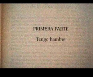 book, frases, and hambre image