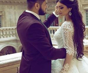 bride, wedding, and bik image