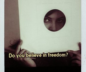 actress, believe, and freedom image