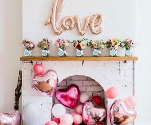 love, birthday, and flowers image
