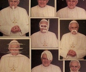 drugs, cocaine, and pope image