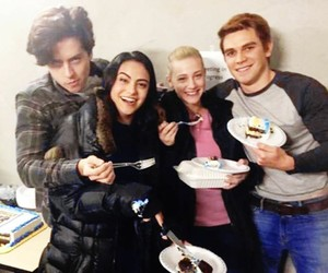 riverdale, cole sprouse, and lili reinhart image