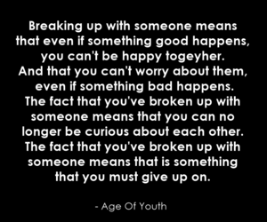 break up, phrases, and quotes image