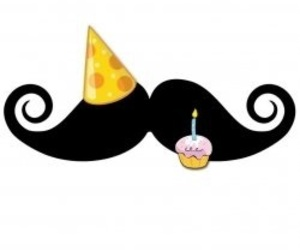 man, moustache, and hbd image