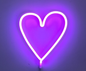 decor, heart, and light image