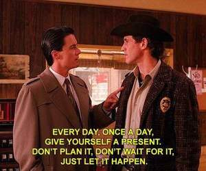 Twin Peaks, agent cooper, and present image