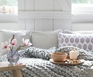 blumen, living room, and sofa image