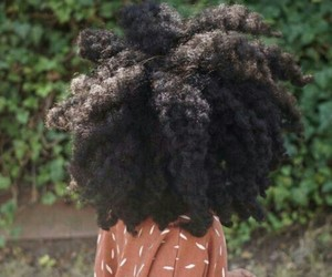 aesthetic, Afro, and black beauty image