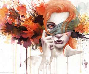 amazing pictures, watercolor painting, and photography inspiration image
