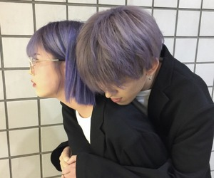 ulzzang, couple, and love image