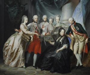 18th century, portrait, and art image
