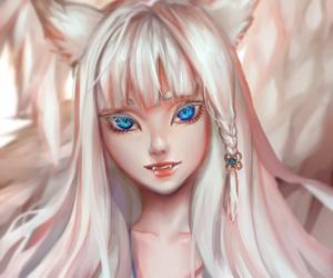 albino, anime, and art image