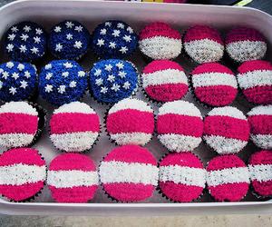 cupcake, usa, and america image