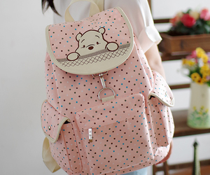 backpack, bear, and funny image
