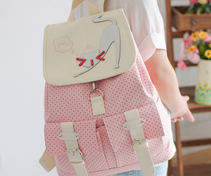 backpack, funny, and girls image