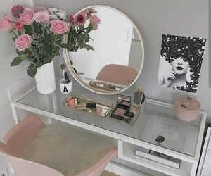 home, decor, and flowers image